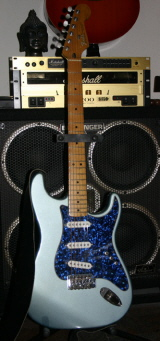 Sharine's new Fender Strat that belonged to Tony Sheridan